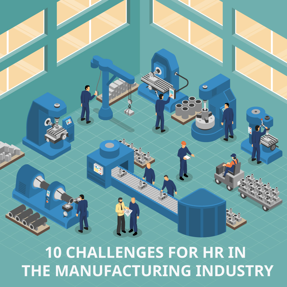 TalentPro Blog - HR Challenges in the Manufacturing Industry