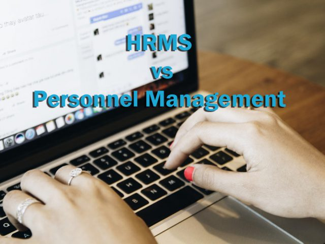 HRMS vs. Personnel Management